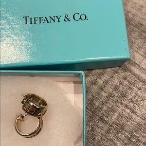 Tiffany and co atlas hoop earring
